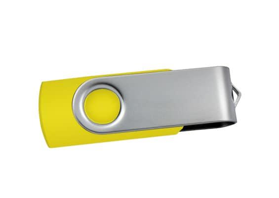 Spin USB - Yellow - USB Spot - USB Flash Drive