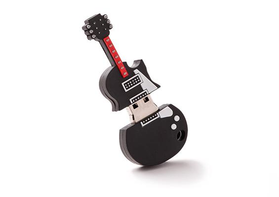 Pens USB em PVC - USB SPOT - Guitarra