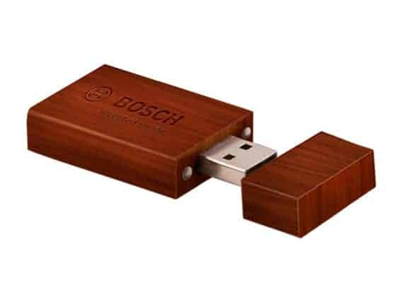 String and Wood - USB Spot - Pen Drive USB - Walnut