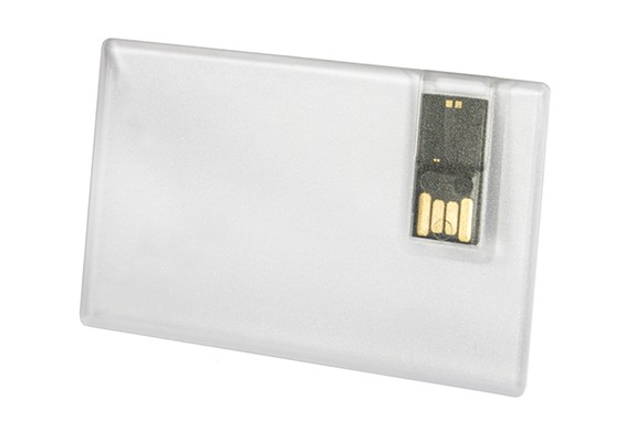 Glassy Card - USB SPOT Pen Drive Transparente