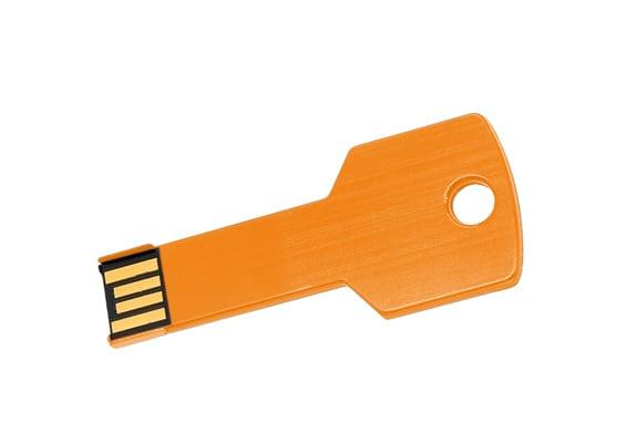 Key USB - Orange - USB SPOT Flash Drive