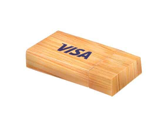 String and Wood - USB Spot - Pen Drive USB - Bamboo Carbon