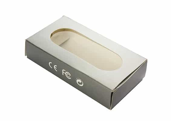 Window Paper Box - USB SPOT Packaging