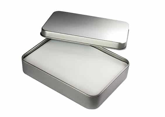 Big Metal Box - USB SPOT Packaging