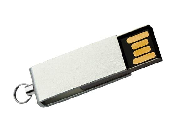 Mini Style USB - Silver - USB SPOT- USB Flash Drive