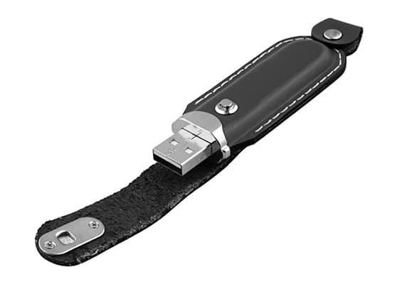 Eleganza USB - Preto - USB SPOT- USB Pen Drive