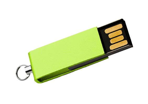 Mini Style USB - Green - USB SPOT- USB Flash Drive