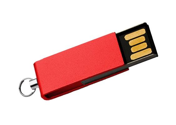 Mini Style USB - Vermelho - USB SPOT- USB Pen Drive