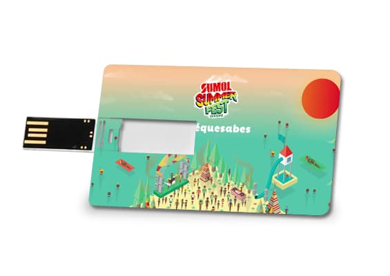 Master Card - USB Spot USB Flash Drive