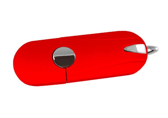 Sportive USB - Vermelho - USB SPOT- USB Pen Drive