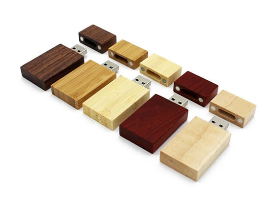 String & Wood USB - Tipos de Madeira - USB SPOT- USB Pen Drive