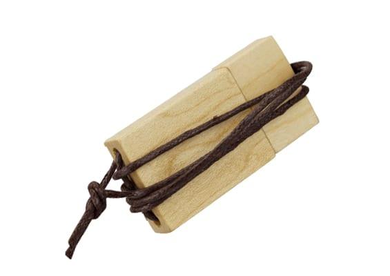 String & Wood USB - Madeira Maple - USB SPOT- USB Pen Drive