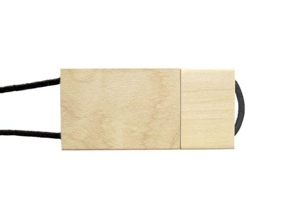 String & Wood USB - Maple - USB SPOT- USB Pen Drive