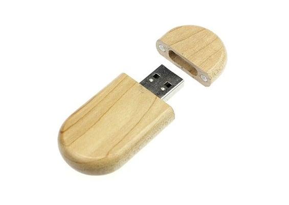 Fine Wood USB - Maple - USB Spot - USB Flash Drives