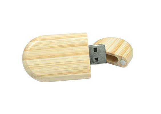 Fine Wood USB - Natural Bamboo - USB Spot - USB Flash Drives