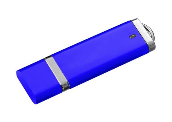 Simplicity - Blue - USB Flash Drive