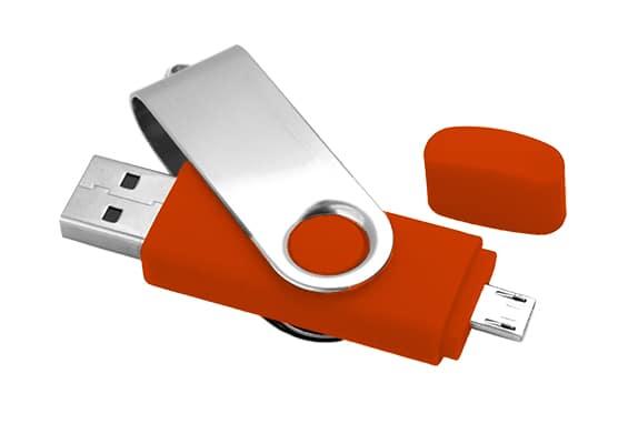Udisk - Pen Drive USB para pc e smartphone - USB SPOT