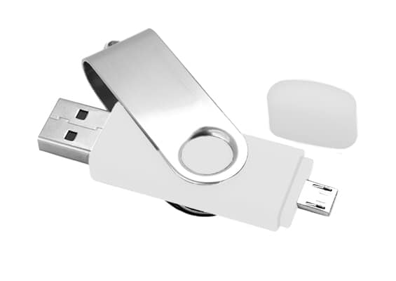 Udisk - USB Flash drive for PC and smartphone - USB Spot