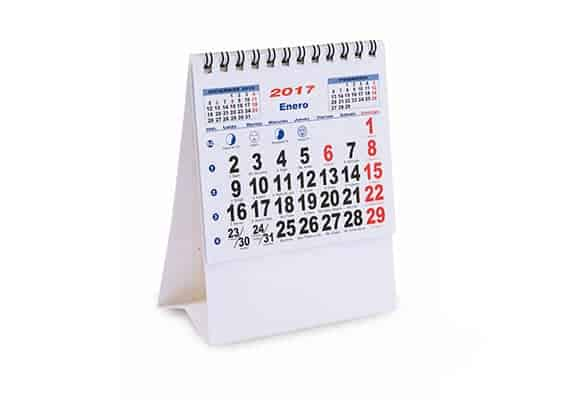 Customized gifts - Blue Ferrer calendar