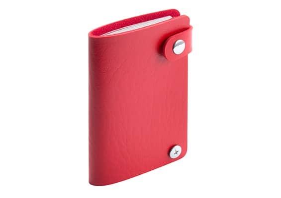 Brindes Personalizados - Porta- Cartões Spot Vermelho