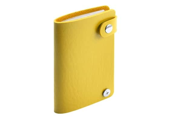 Brindes Personalizados - Porta- Cartões Spot Amarelo
