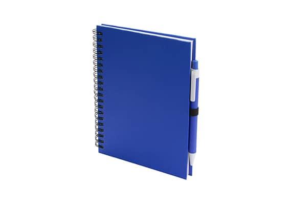 Brindes Personalizados - Caderno Lufi Azul
