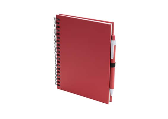 Customized gifts - Red Lufi notebook