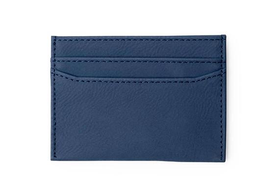Brindes Personalizados- Porta-Cartões Licok Azul Escuro