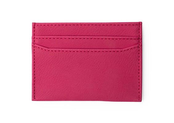 Brindes Personalizados- Porta-Cartões Licok Azul Rosa