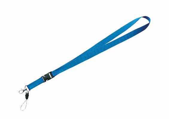 Regalos Personalizados - Lanyard Bulde Azul