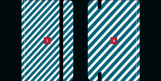 Área de impressão Kisa - Brindes - USB SPOT