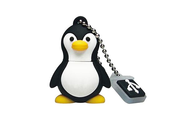 Memoria USB en PVC - Penguin