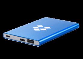 USB Spot - Custom USB Power Banks - Car Power Bank - Blue