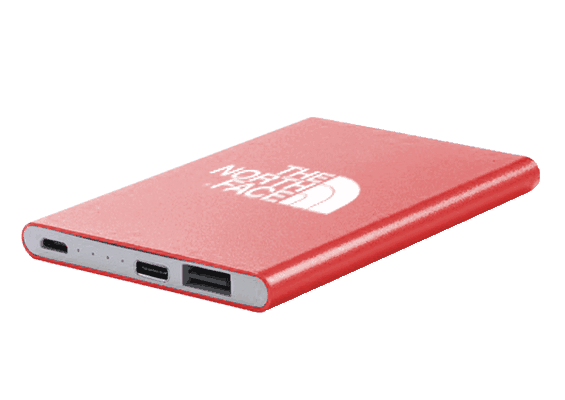 USB Spot - Custom USB Power Banks - Car Power Bank - Red