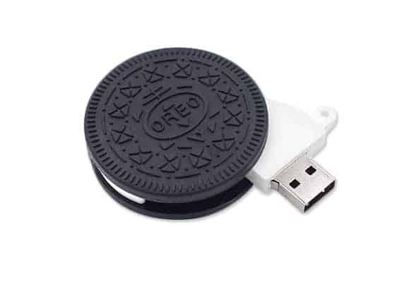 Pens USB em PVC – USB SPOT – Cookie